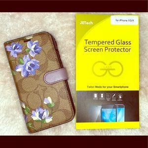 Coach Wallet Phone Case & screen protector